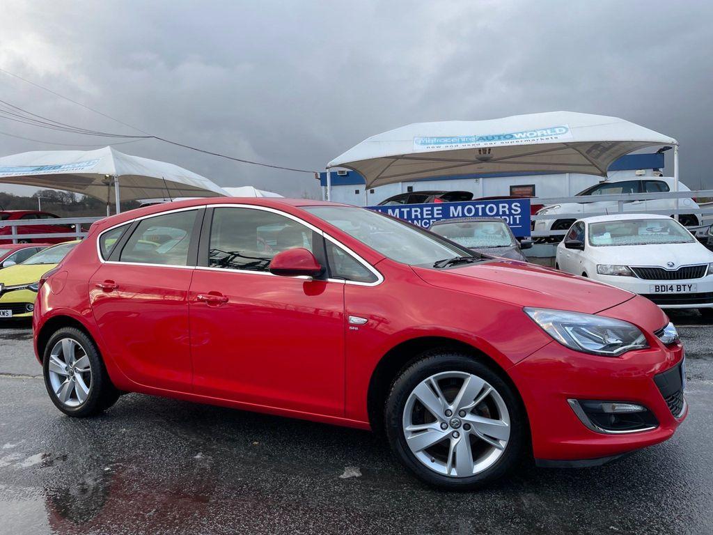 Vauxhall Astra Hatchback 1.4i SRi 5dr