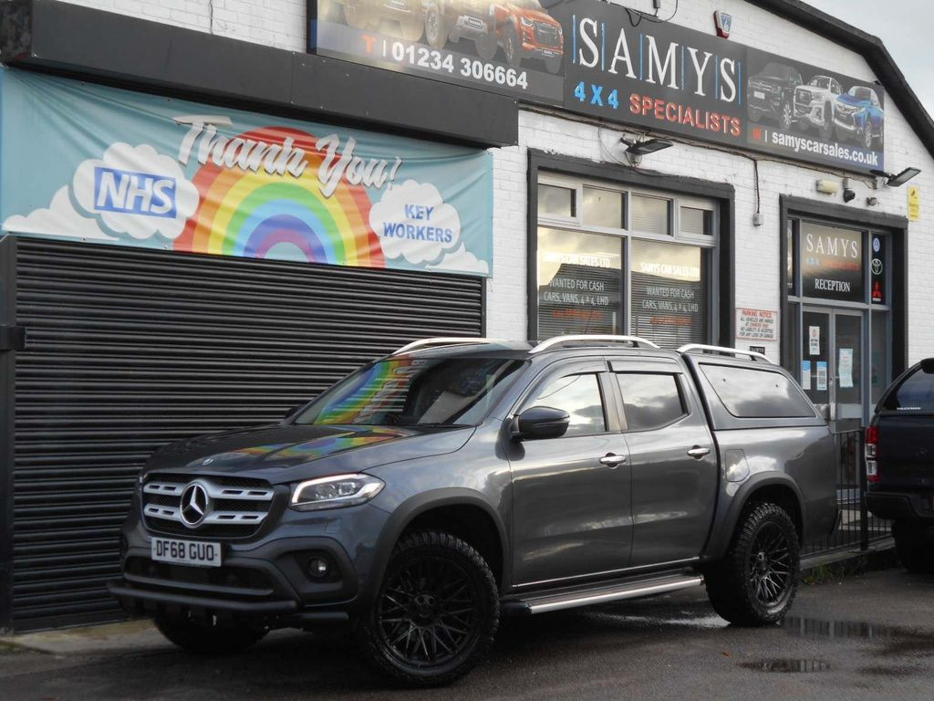 Mercedes-Benz X Class Pickup 2.3 X250d Progressive Double Cab Pickup Auto 4MATIC 4dr