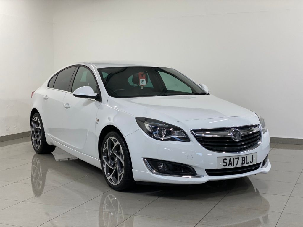 Vauxhall Insignia Hatchback 1.6 Turbo D BlueInjection SRi VX Line Nav Grand Sport (s/s) 5dr