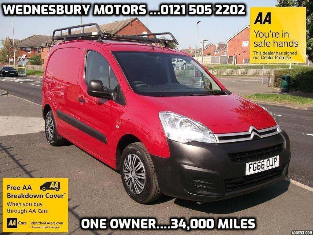 Citroen Berlingo Panel Van 1.6 BlueHDi 850 X L1 4dr