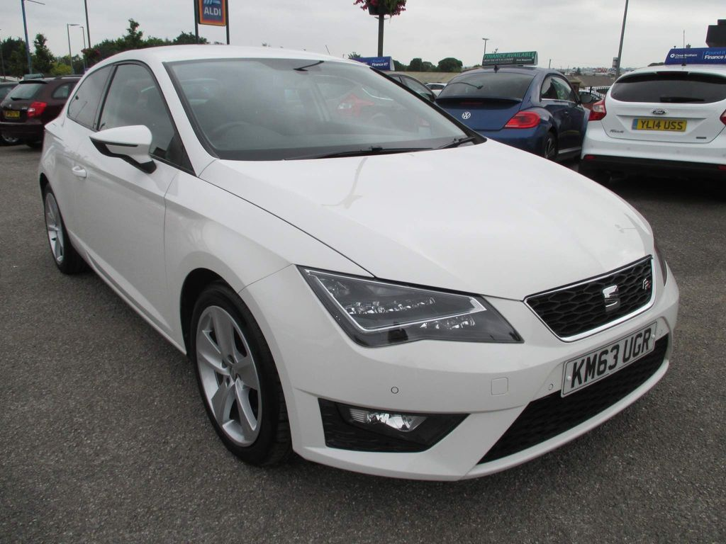 SEAT Leon Hatchback 2.0 TDI CR FR (Tech Pack) SportCoupe (s/s) 3dr