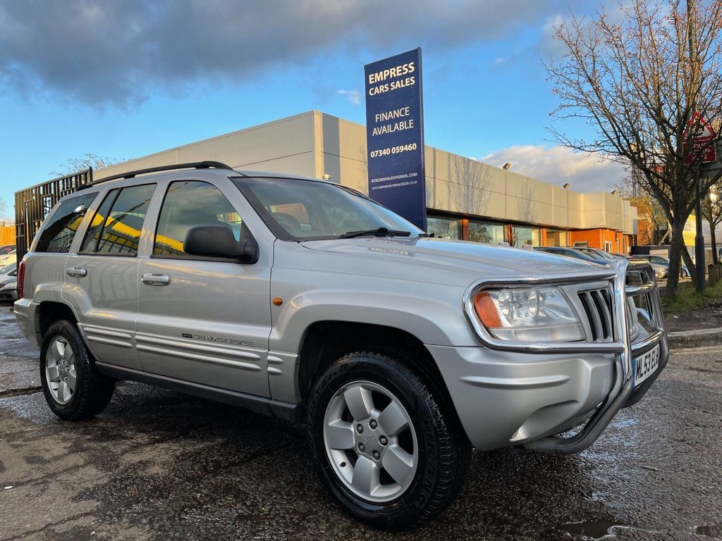 Jeep Grand Cherokee SUV 2.7 CRD Limited 4x4 5dr