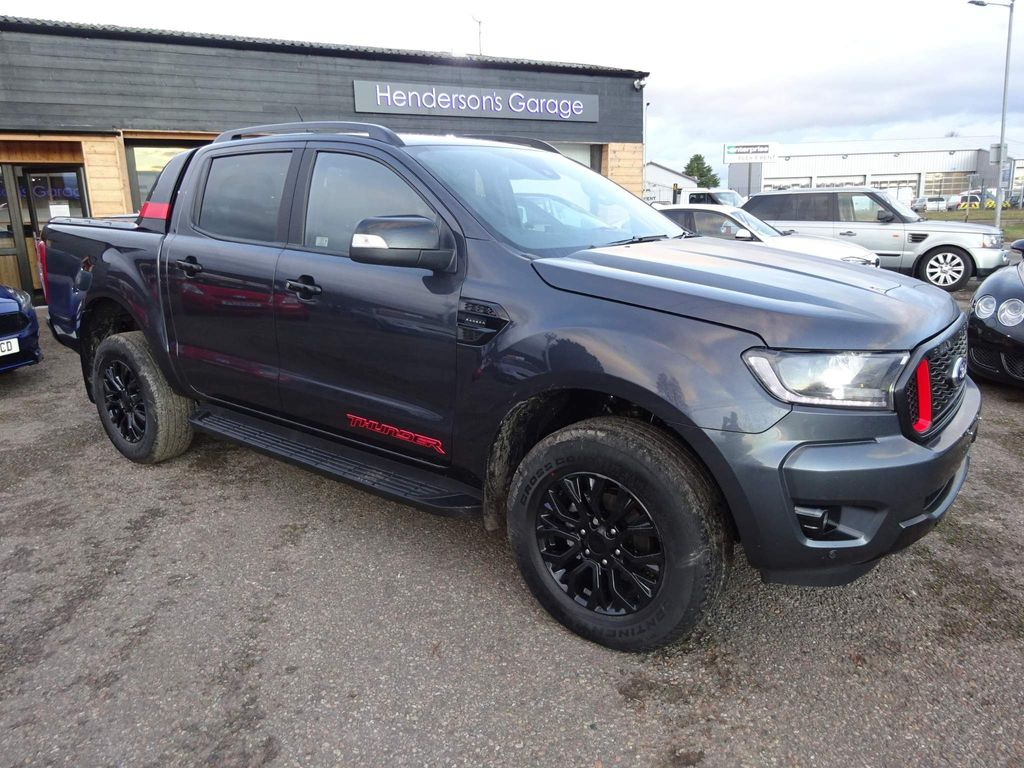 Ford Ranger Pickup 2.0 EcoBlue Thunder Double Cab Pickup Auto 4WD EU6 (s/s) 4dr