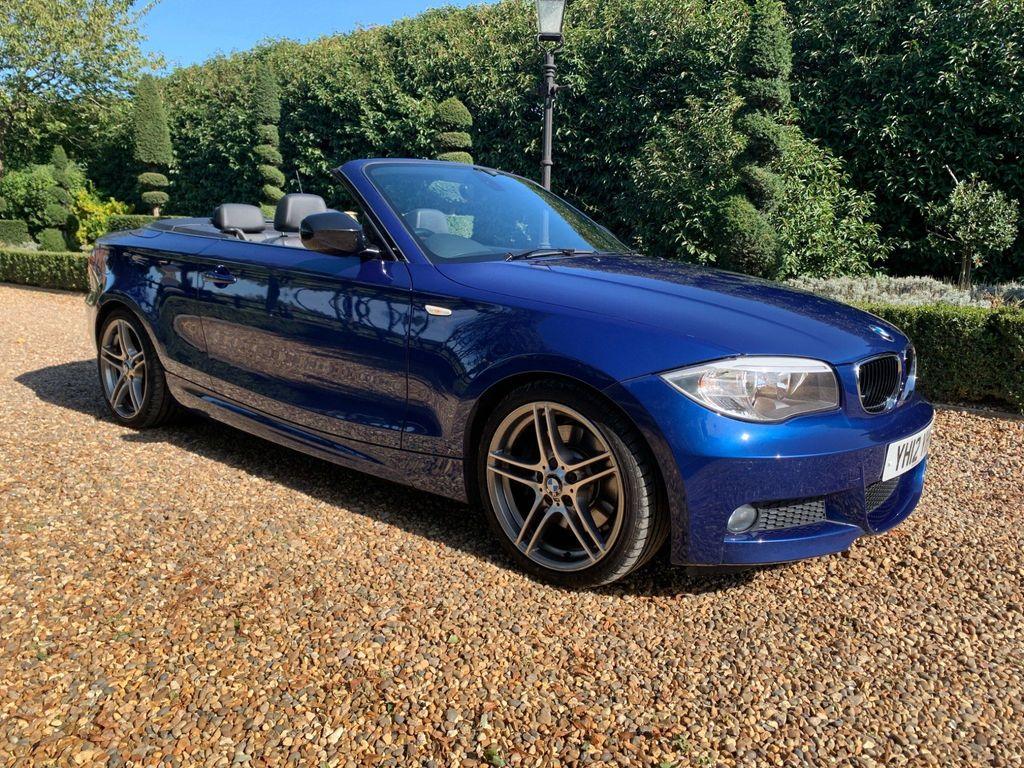 BMW 1 Series Convertible 2.0 123d Sport Plus Edition Auto 2dr