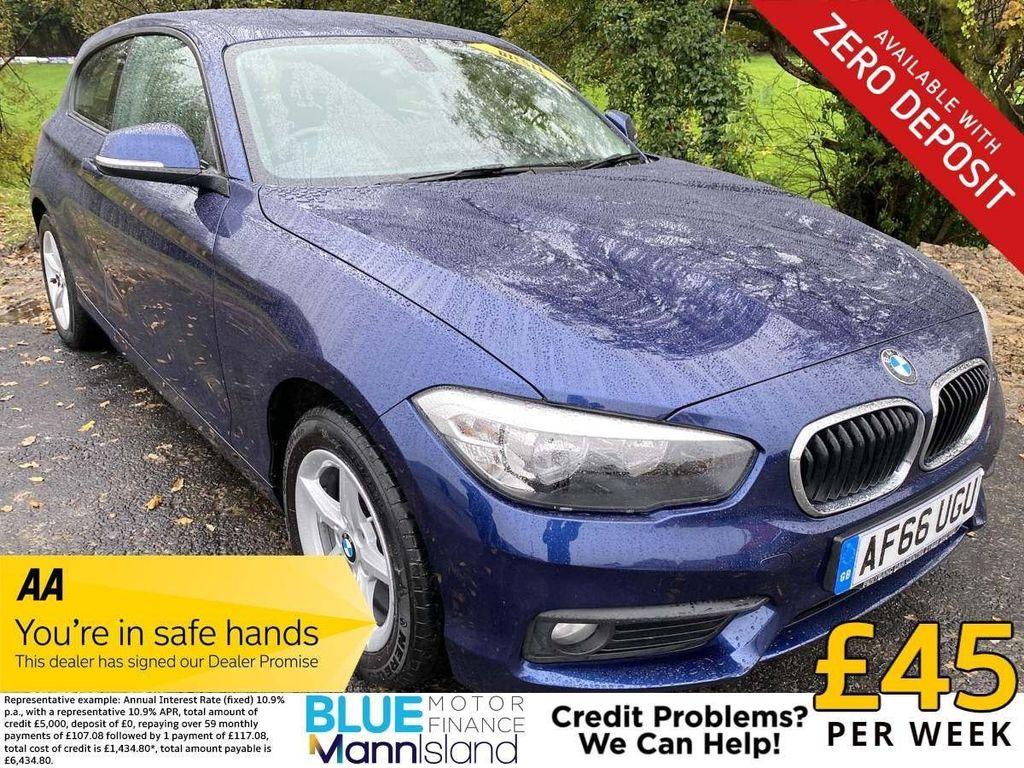 BMW 1 Series Hatchback 1.5 116d SE (s/s) 3dr