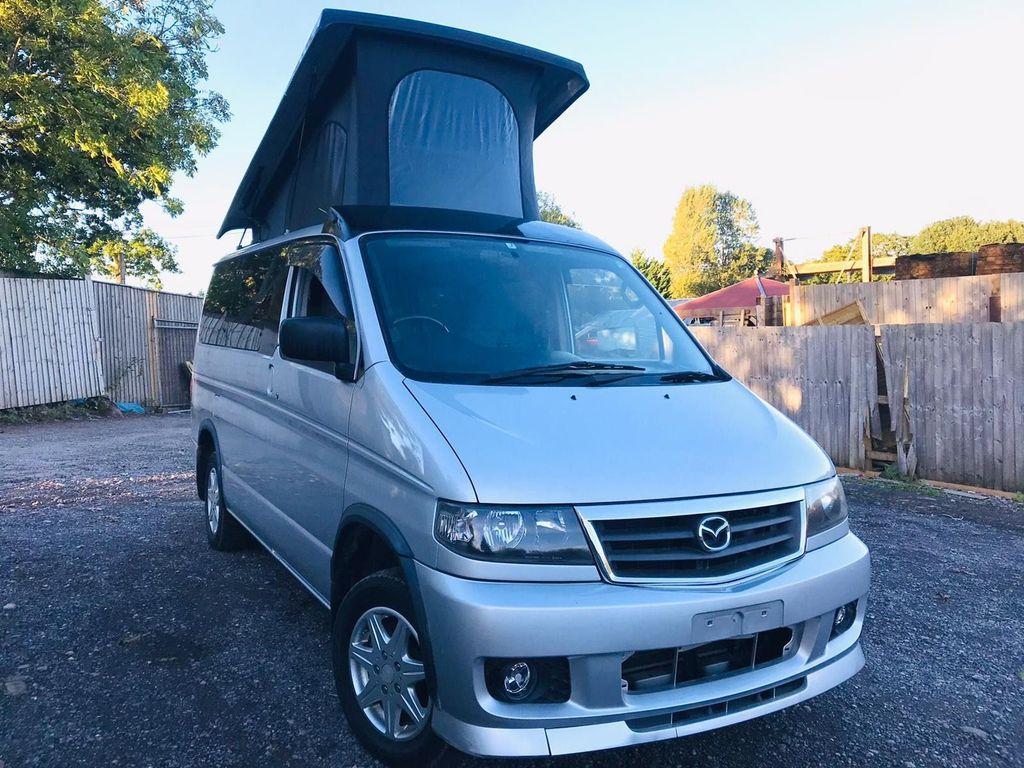 Mazda BONGO POP TOP 4 BERTH NEW Campervan CAMPER CONVERSION RUST FREE FRESH IMPORT PETROL