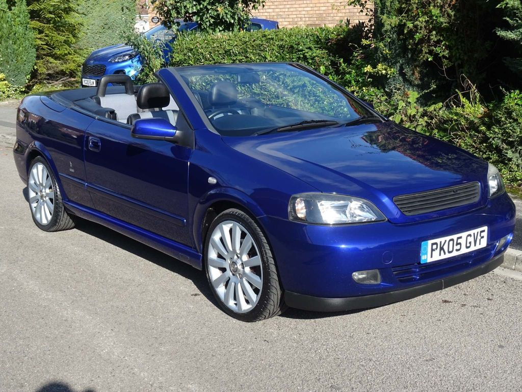 Vauxhall Astra Convertible 1.8 i 16v Exclusiv 2dr