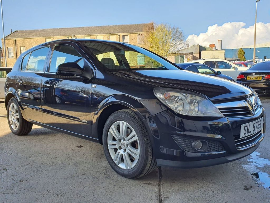 Vauxhall Astra Hatchback 1.6 i 16v Design 5dr