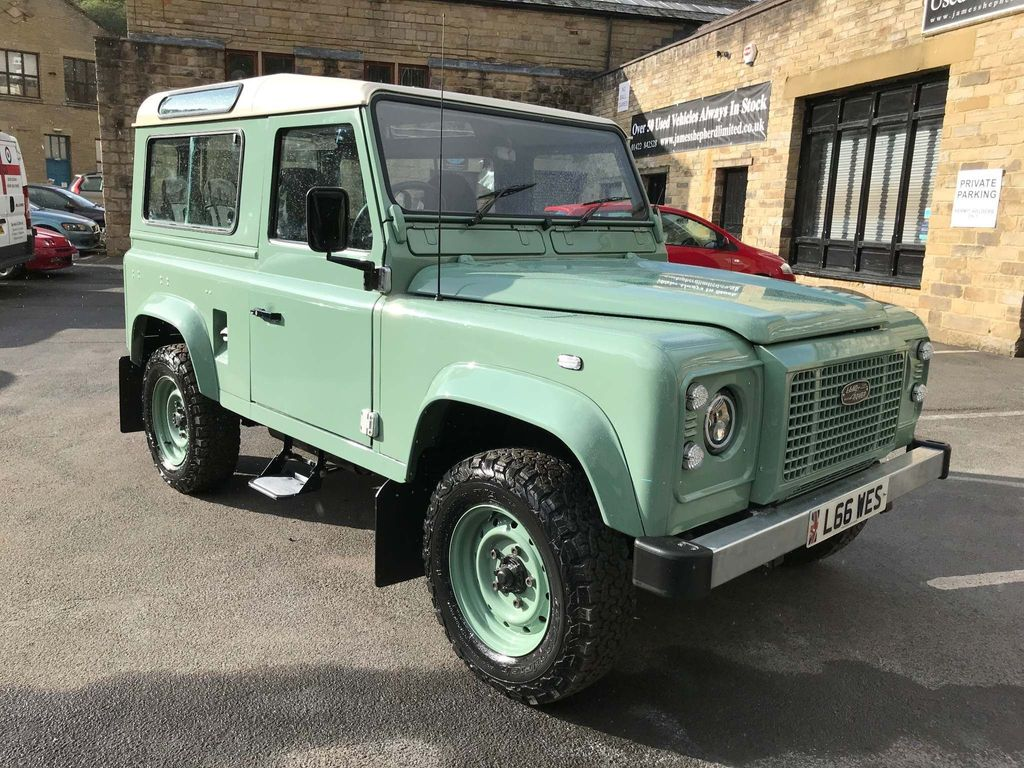 Land Rover Defender 90 Unlisted 2.5 TDi County Station Wagon