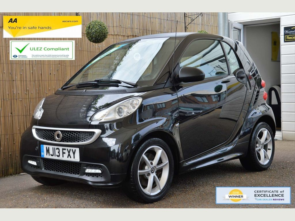 Smart fortwo Coupe 1.0 MHD Edition 21 Softouch 2dr