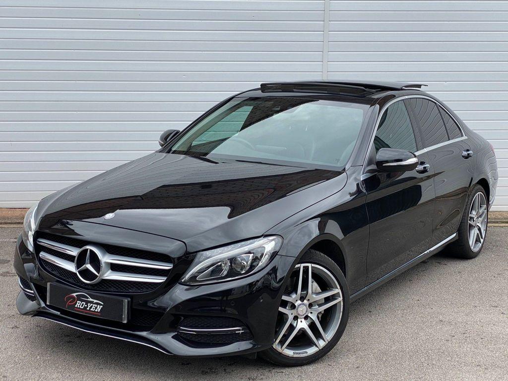 Mercedes-Benz C Class Saloon 2.1 C250d Sport (Premium Plus) 7G-Tronic+ (s/s) 4dr