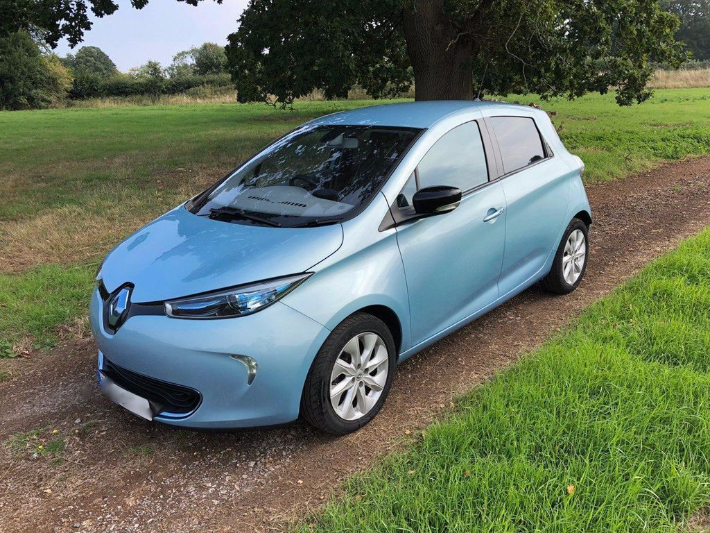 Renault Zoe Hatchback 22kWh Dynamique Nav Auto 5dr (Quick Charge, Battery Lease)