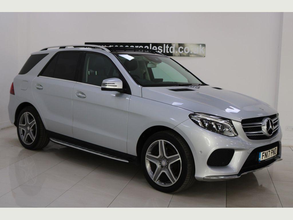 Mercedes-Benz GLE Class SUV 3.0 GLE350d V6 AMG Line (Premium Plus) G-Tronic 4MATIC (s/s) 5dr