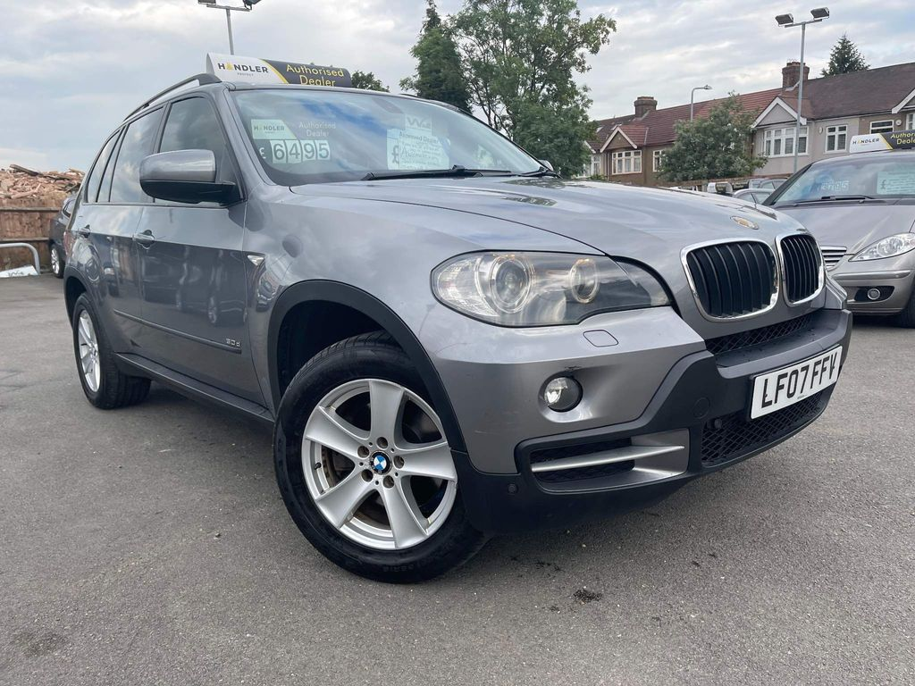 BMW X5 SUV 3.0 SD SAT-WAGN 7SEATS DIE AUTO 4WD 5DR