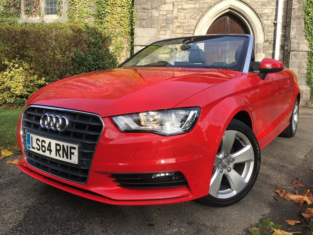 Audi A3 Cabriolet Convertible 1.4 TFSI CoD Sport Cabriolet S Tronic 2dr