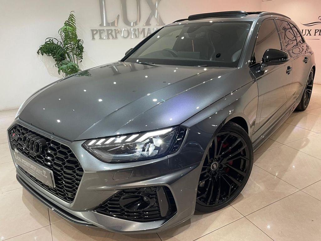 Audi RS4 Avant Estate 2.9 TFSI V6 Carbon Black Avant Tiptronic quattro (s/s) 5dr