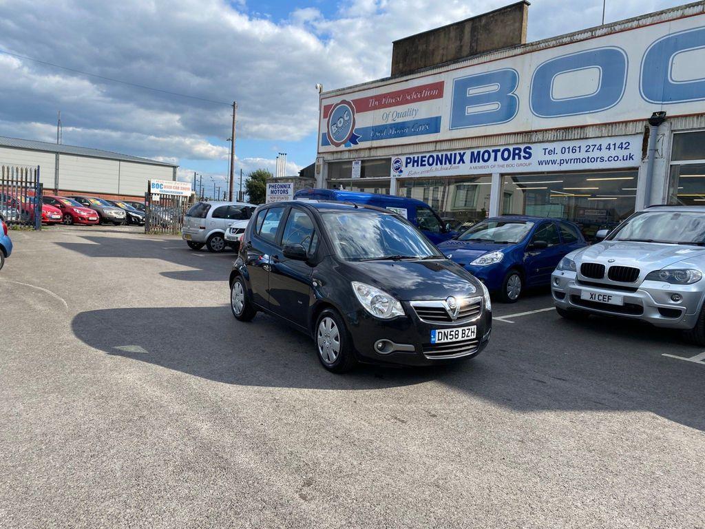 Vauxhall Agila Hatchback 1.0 i 12v Club 5dr