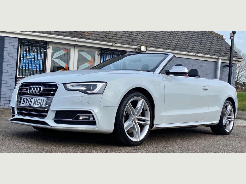 Audi S5 Convertible 3.0 TFSI S Tronic quattro (s/s) 2dr