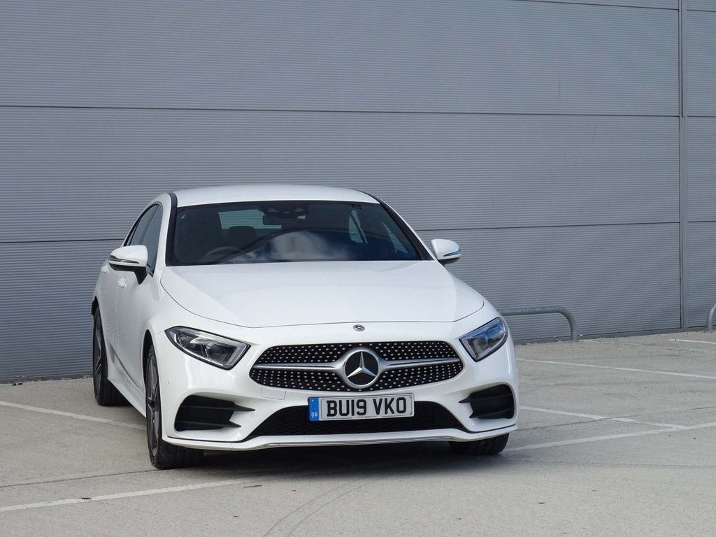 Mercedes-Benz CLS Coupe 3.0 CLS400d AMG Line G-Tronic 4MATIC (s/s) 4dr