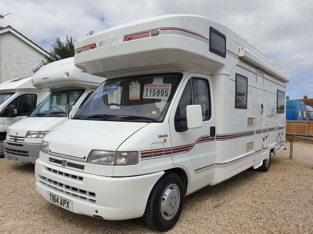 Swift Sorry now sold Coach Built Fiat ducato 2.8I d td