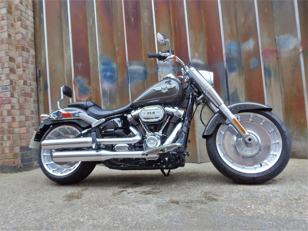 Harley-Davidson Softail Custom Cruiser 1870 Fat Boy 114