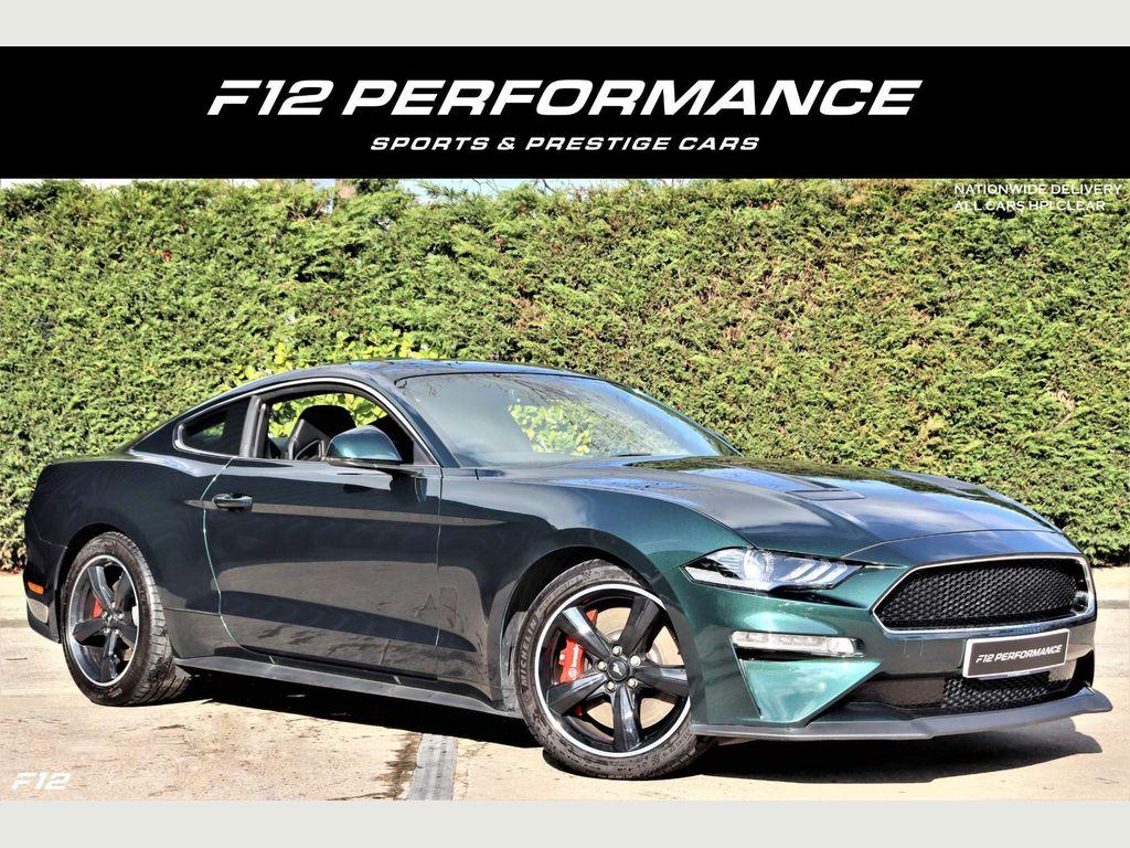 Ford Mustang Coupe 5.0 V8 Bullitt Fastback 2dr
