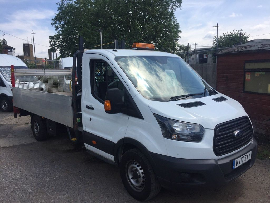 Ford Transit Dropside 14foot dropside with taillift euro 6