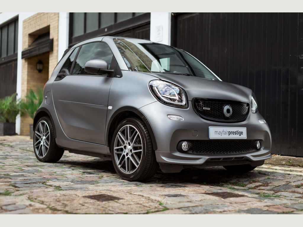 Smart fortwo Convertible 0.9 BRABUS Xclusive Cabriolet Twinamic (s/s) 2dr