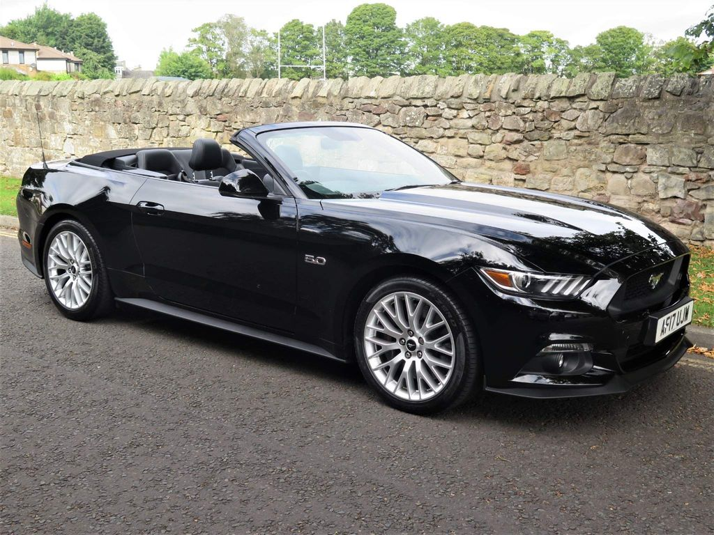Ford Mustang Convertible 5.0 V8 GT SelShift 2dr