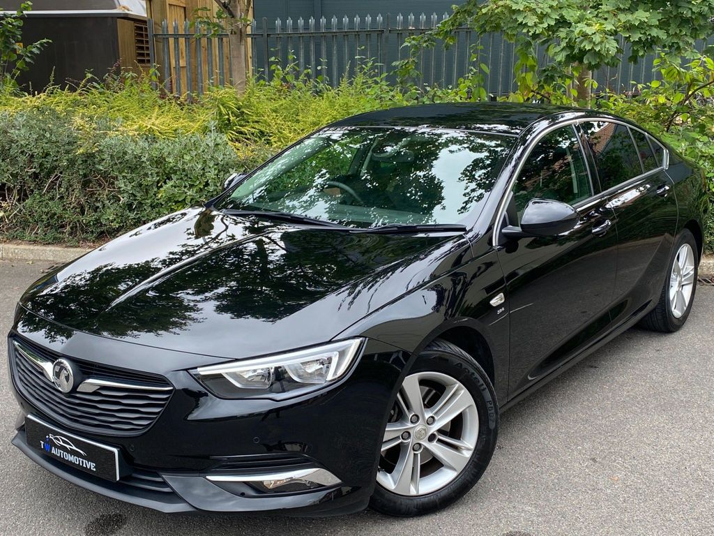 Vauxhall Insignia Hatchback 1.6 Turbo D BlueInjection SRi Grand Sport (s/s) 5dr