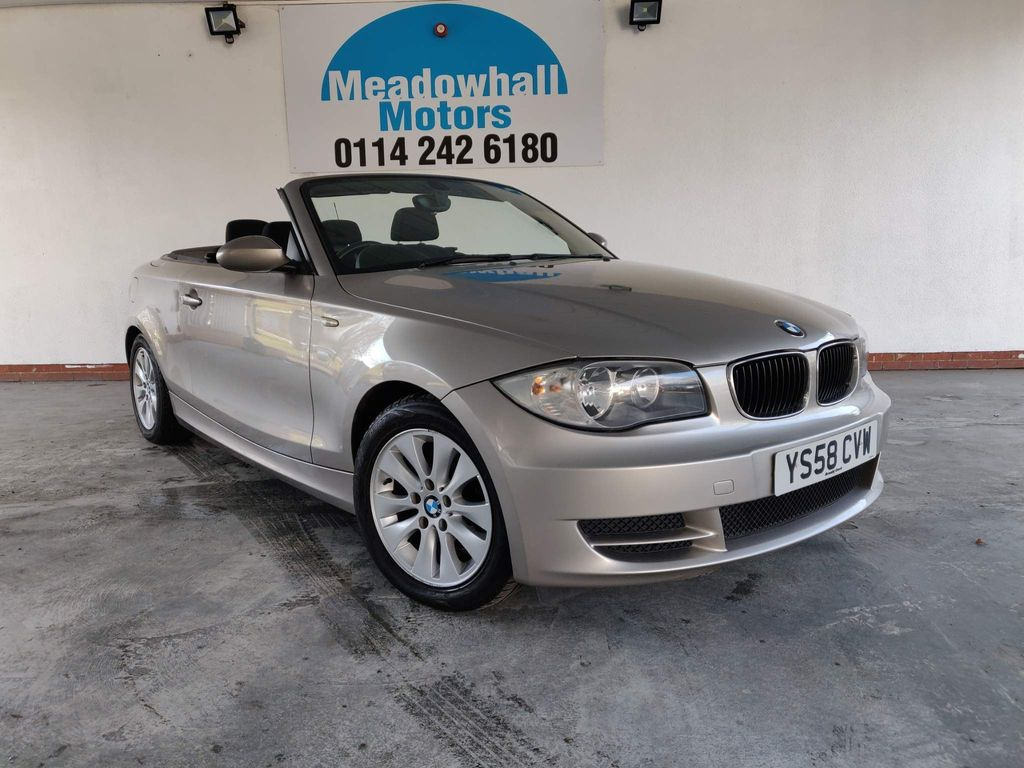 BMW 1 Series Convertible 2.0 120i ES 2dr