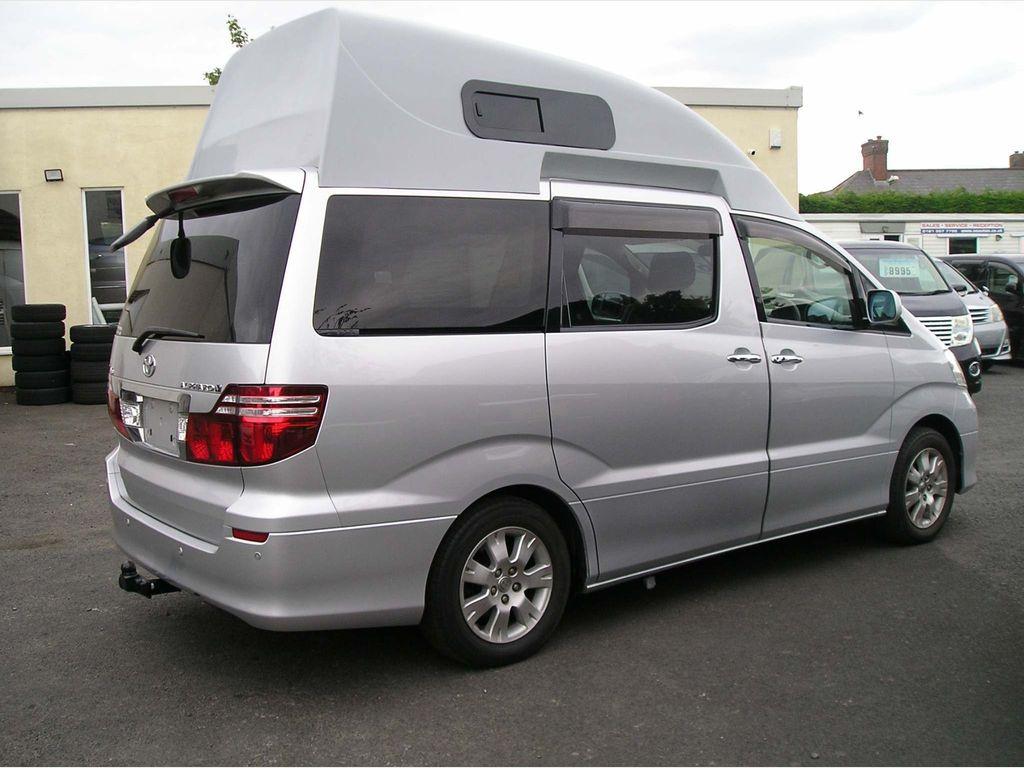 Toyota Alphard Unlisted Full camper conversion