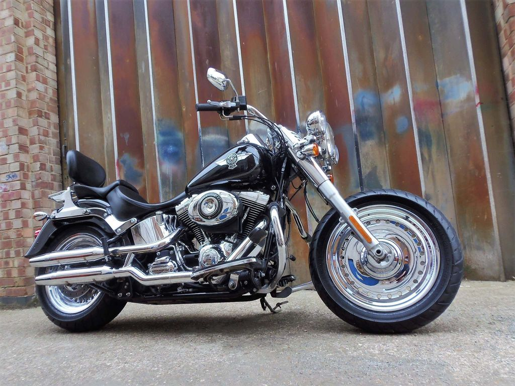 Harley-Davidson Softail Custom Cruiser 1690 FLSTF Fat Boy Custom Cruiser