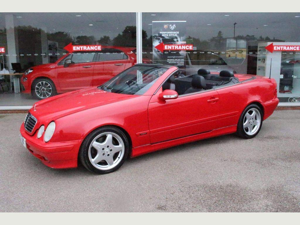 Mercedes-Benz CLK Convertible 4.3 CLK430 Avantgarde Cabriolet 2dr