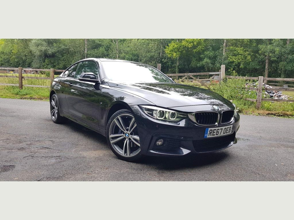 BMW 4 Series Coupe 2.0 420d M Sport Auto xDrive (s/s) 2dr