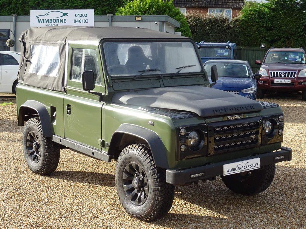Land Rover Defender 90 Pickup 2.5 TDi Pick-Up 2dr