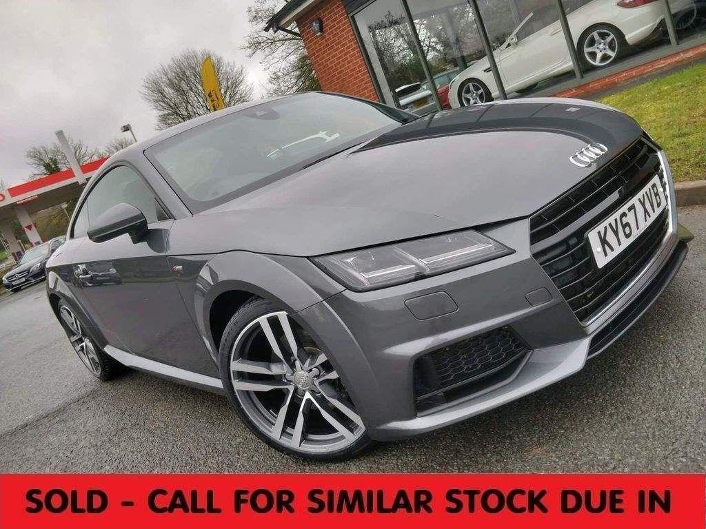 Audi TT Coupe 2.0 TFSI S line S Tronic (s/s) 3dr