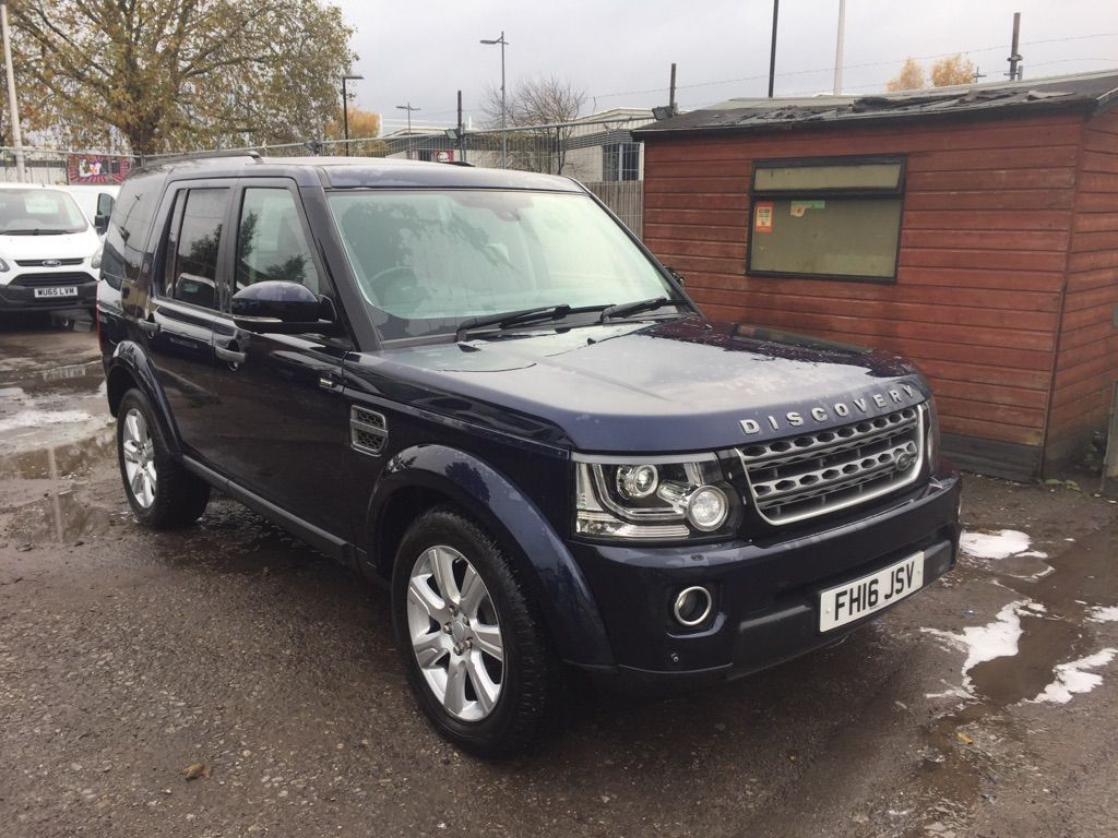 Land Rover Discovery 4 Other 3.0 SD V6 SE Panel Van 5dr