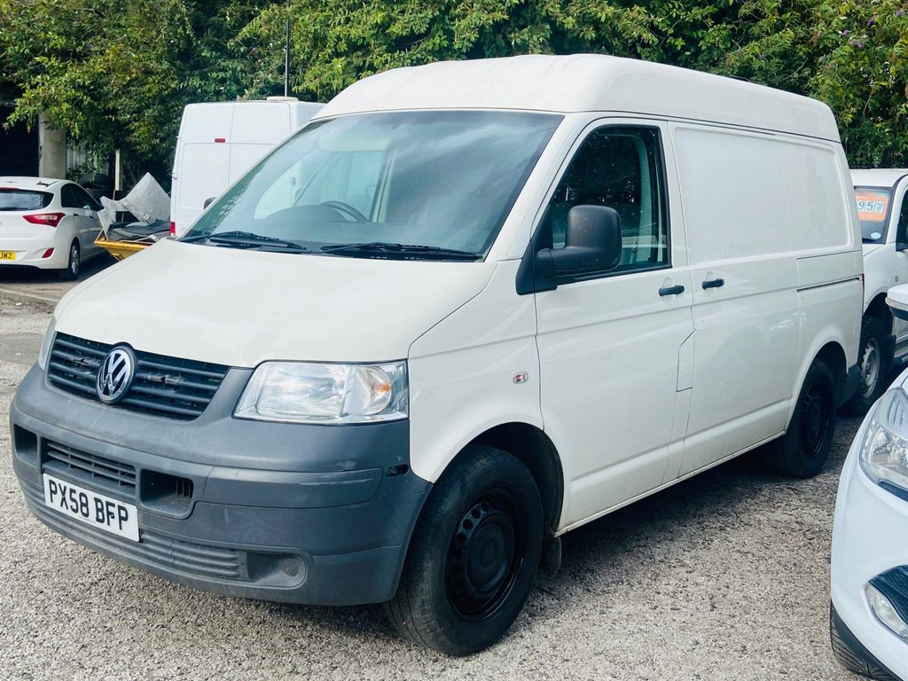 Volkswagen Transporter Panel Van 2.5 TDI PD T30 Medium Roof Van 4MOTION 4dr (SWB)