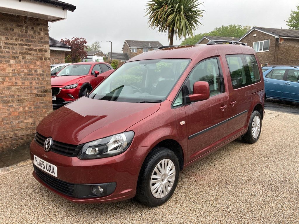 Volkswagen Caddy MPV WHEELCHAIR CONVERSION AUTOMATIC CADDY
