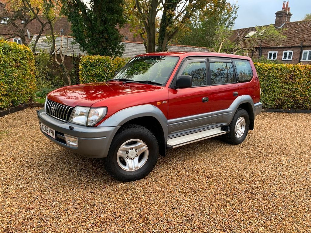 Toyota Land Cruiser Colorado SUV 3.0 D-4D GX 5dr (8 Seat)