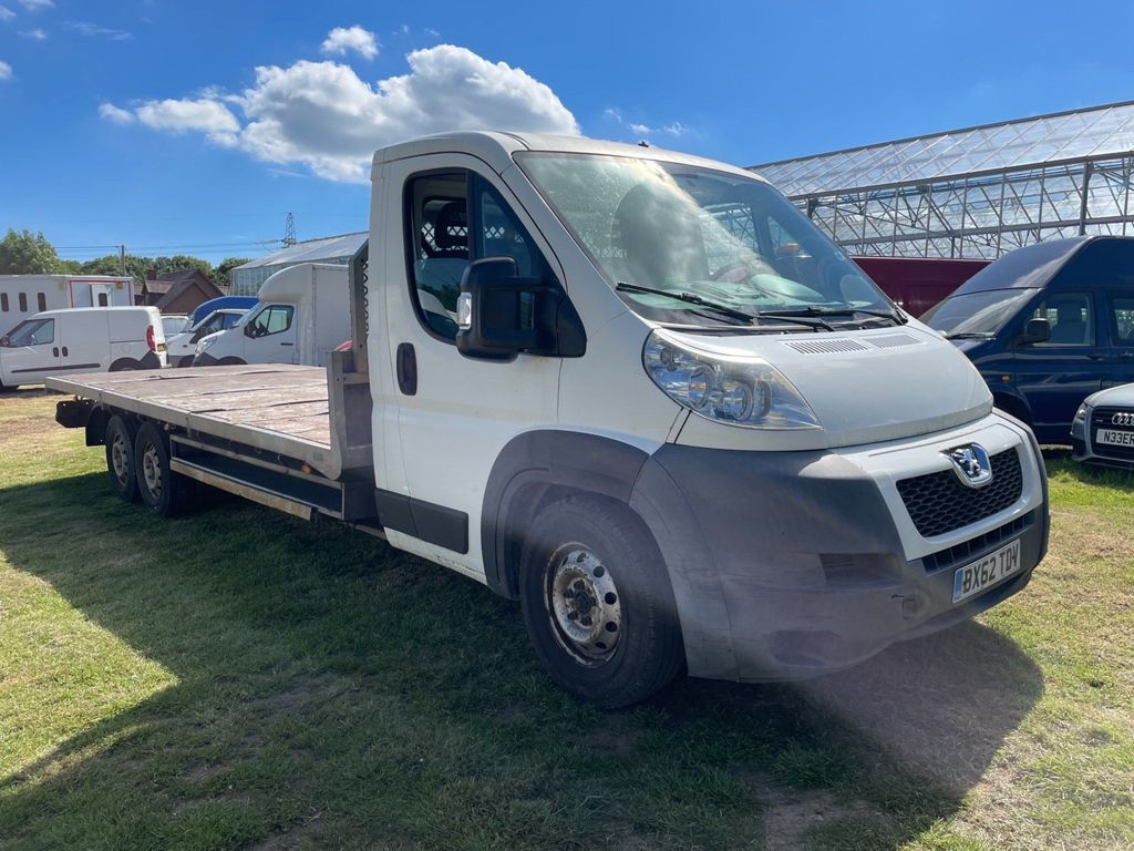 Peugeot Unlisted Dropside ZUCKOFF 440 DAY