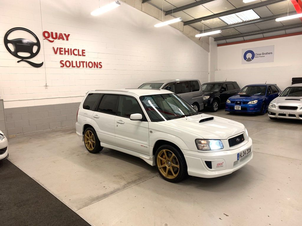 Subaru Forester SUV JDM SG9 STI 2.5 AVCS {6} TURBO MANUAL