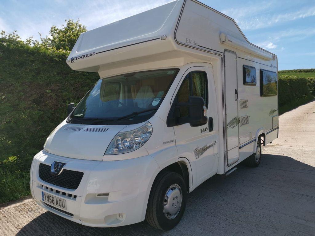 Elddis Autoquest 140 Coach Built Rear lounge