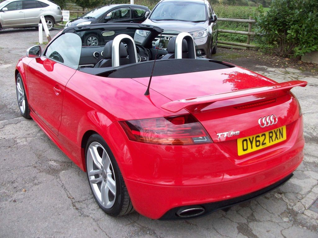 Used Audi Tt Rs Convertible 2 5 Roadster S Tronic Quattro 2dr In Bradford On Avon Wiltshire Just Cars