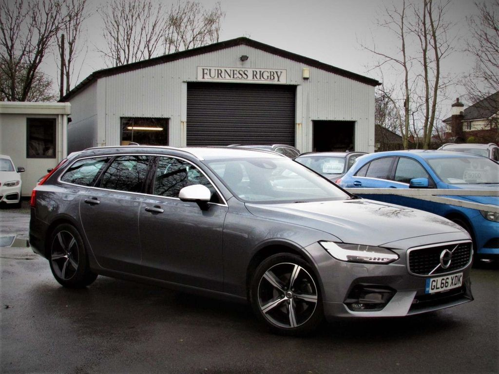 Volvo V90 Estate 2.0 D4 R-Design Auto (s/s) 5dr