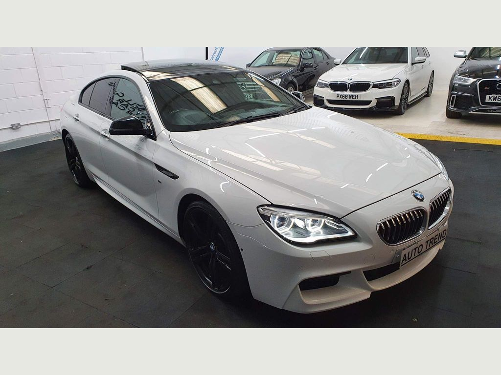 BMW 6 Series Gran Coupe Saloon 3.0 640i M Sport Gran Coupe Auto (s/s) 4dr