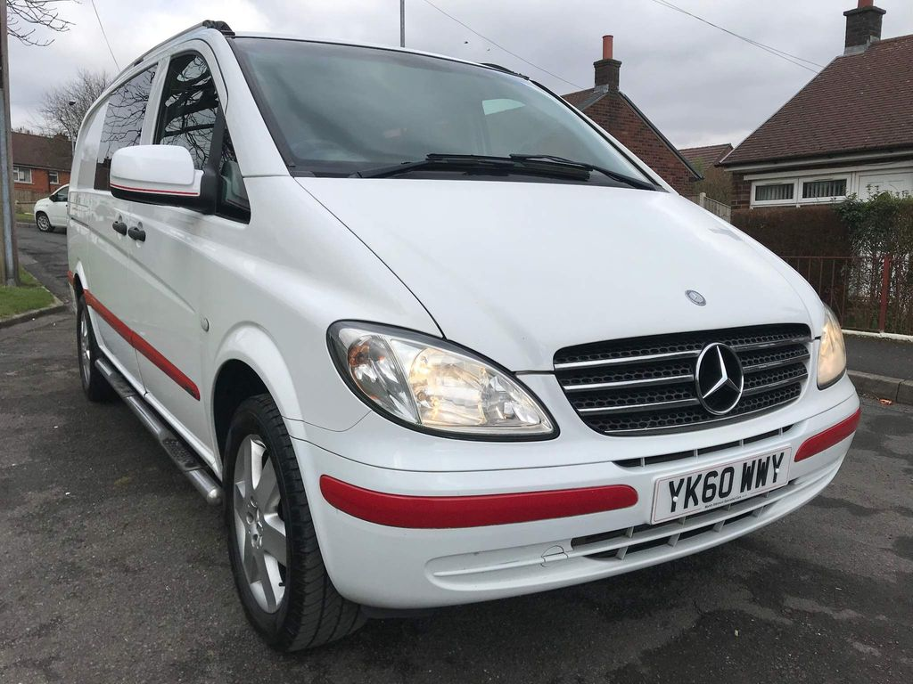 Mercedes-Benz Vito Panel Van 2.1 111CDI Long Panel Van 5dr