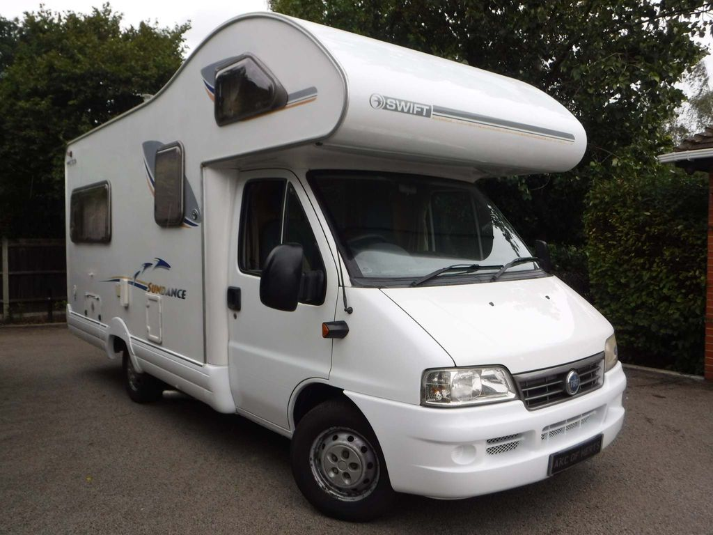 Fiat DUCATO 15 MWB JTD C/C Van Conversion Swift 590RL Sundance
