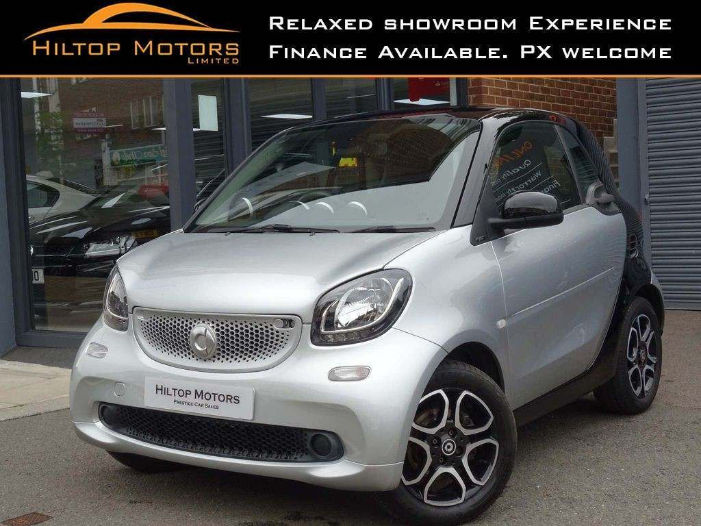 Smart fortwo Coupe 0.9T Prime (Premium) (s/s) 2dr